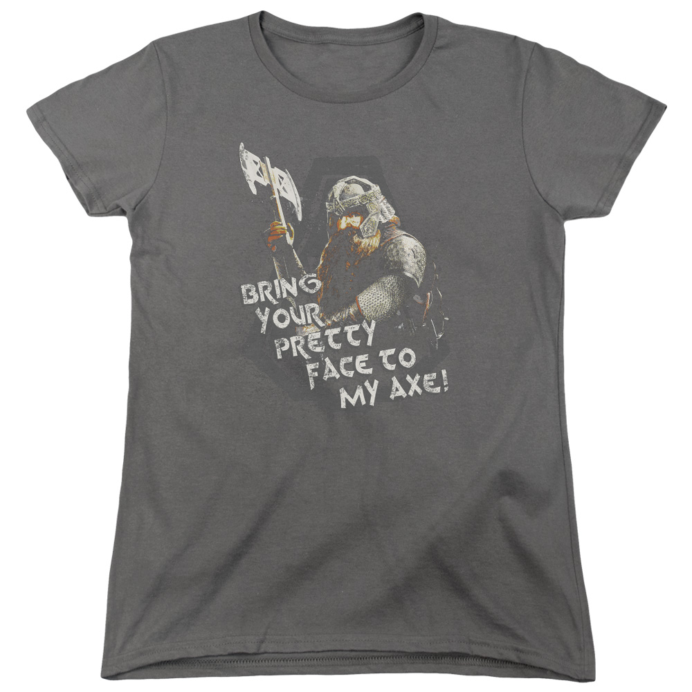 The Lord of the Rings Pretty Face Womens Short Sleeve Shirt