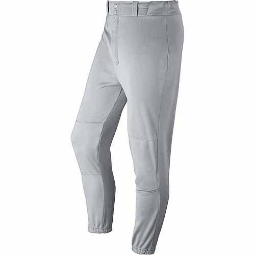 Wilson Adult Baseball Zipper Pants with Elastic Waistband and Belt Loops, Grey