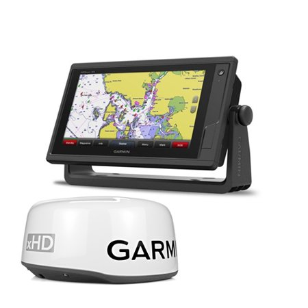 Chartplotter Radar - Garmin GPSMAP 942xs 9-inch Touchscreen Chartplotter and Sonar w/GMR 18 xHD Radar