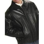 Roper Western Jacket Mens Nappa Bomber Zip Black 02-097-0524-0515 BL