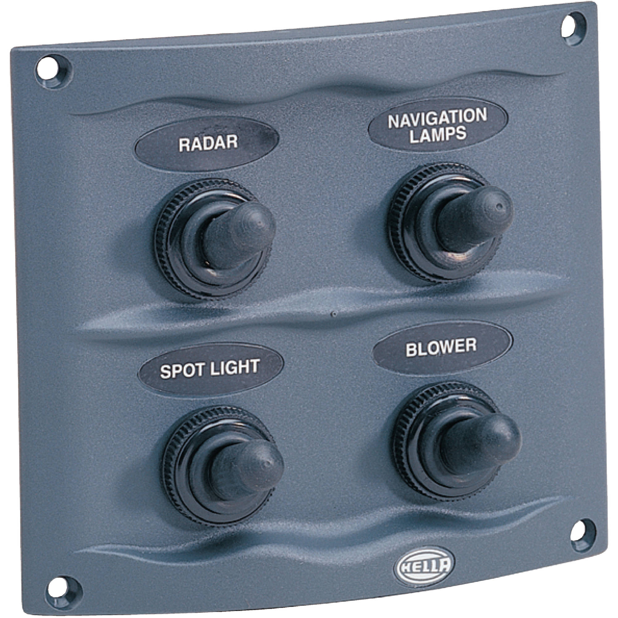 Hella Compact Switch Panel, Grey