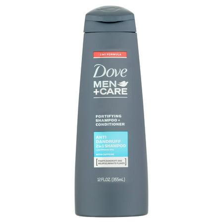 Dove Men + Care Anti pelliculaire 2 en 1 Shampooing et revitalisant, 12 oz