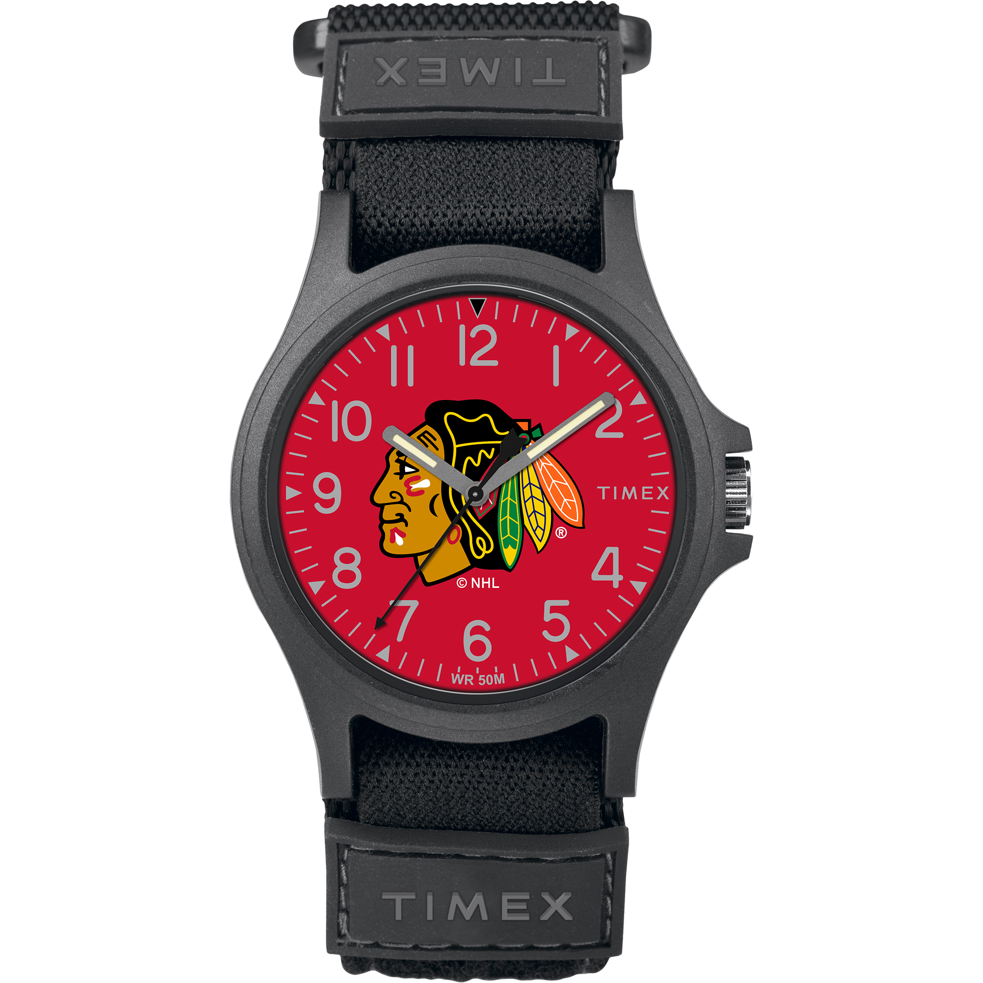 Timex - NHL Tribute Collection Pride Men's Watch, Chicago Blackhawks