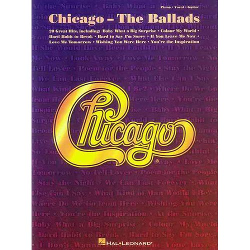 Chicago: The Ballads