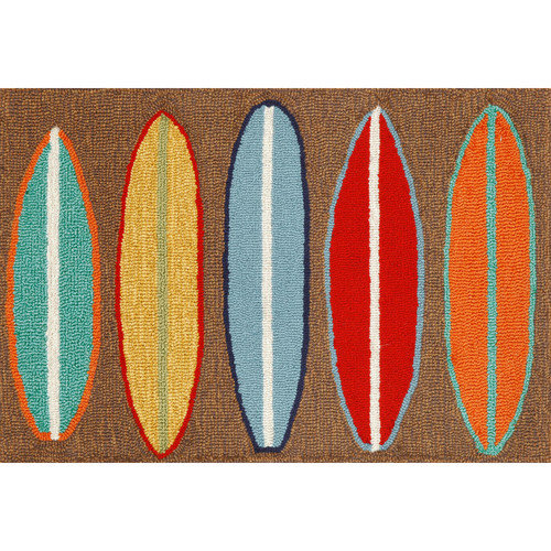 Liora Manne Frontporch Surfboards Area Rug
