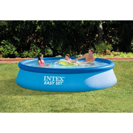 Intex 13 39 x 33 easy set above ground backyard swimming for Purchase above ground swimming pool