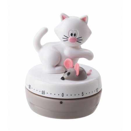 Joie Meow Cat Theme 60-minute Kitchen Timer - Color May Vary