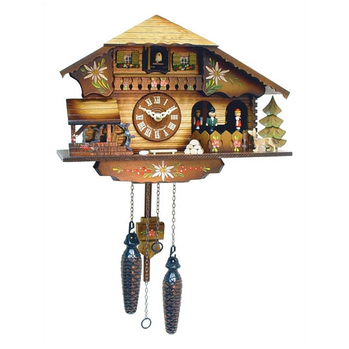 Black Forest Chalet Cuckoo Clock by Black Forest