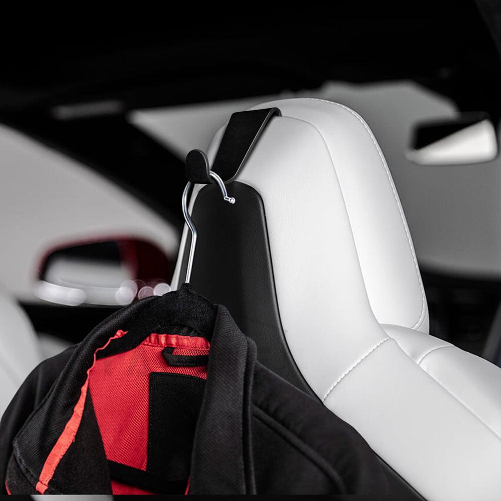 HITTIME Car Seat Back Hook Headrest Storage Holder Seatback Fit for Tesla Model X//S