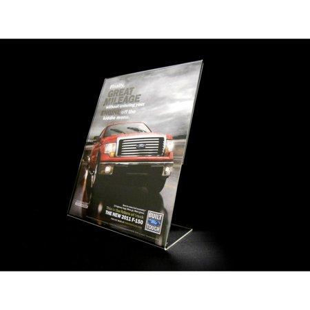 - Acrylic Slant Back Display Sign Holder 8.5