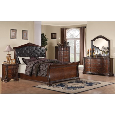 Wildon Home Martone Sleigh Customizable Bedroom Set