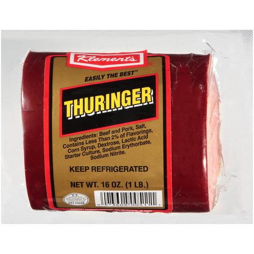 Klement���������s Thuringer, 16 oz
