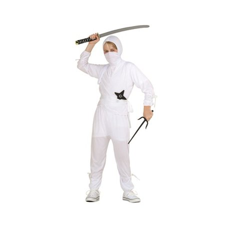 White Ninja Child Costume - Ninja Costumes Kids