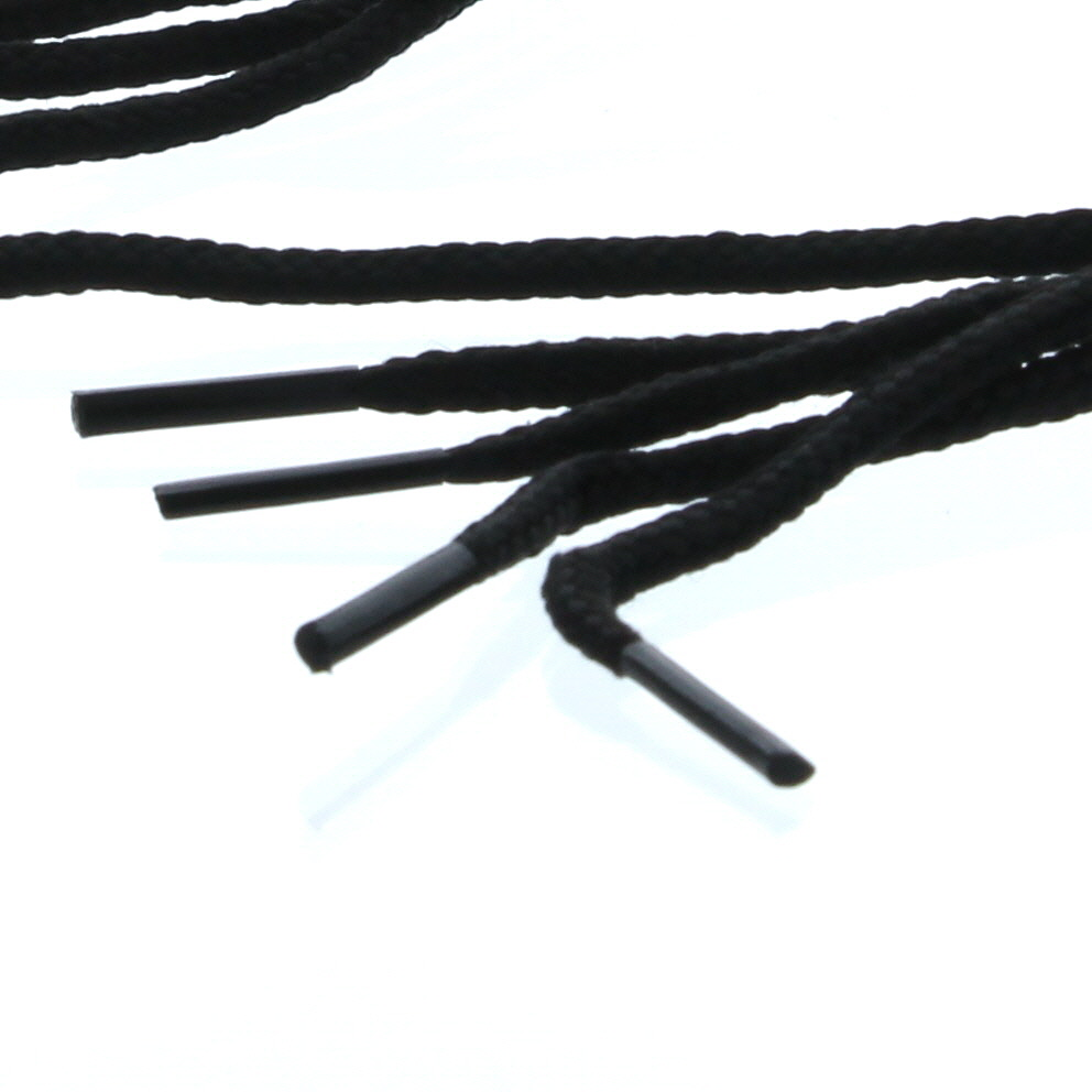 "6 Pairs Black Round Athletic Shoe String shoelace Sneaker 34"" Boots"