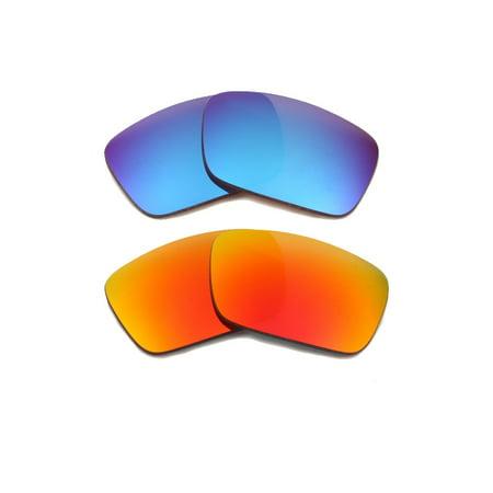 dc781f7003f Seek Optics - FUEL CELL Replacement Lenses Blue   Red by SEEK fits OAKLEY  Sunglasses - Walmart.com