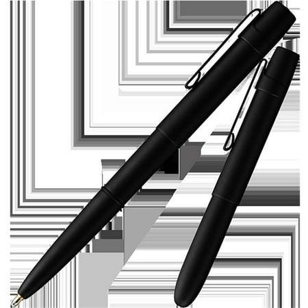 Matte Black Bullet Space Pen (Fisher Space Pen X-Mark Flat-Cap Bullet Space Pen with Clip, Black Matte, Gift Boxed (400BWCBCL) )
