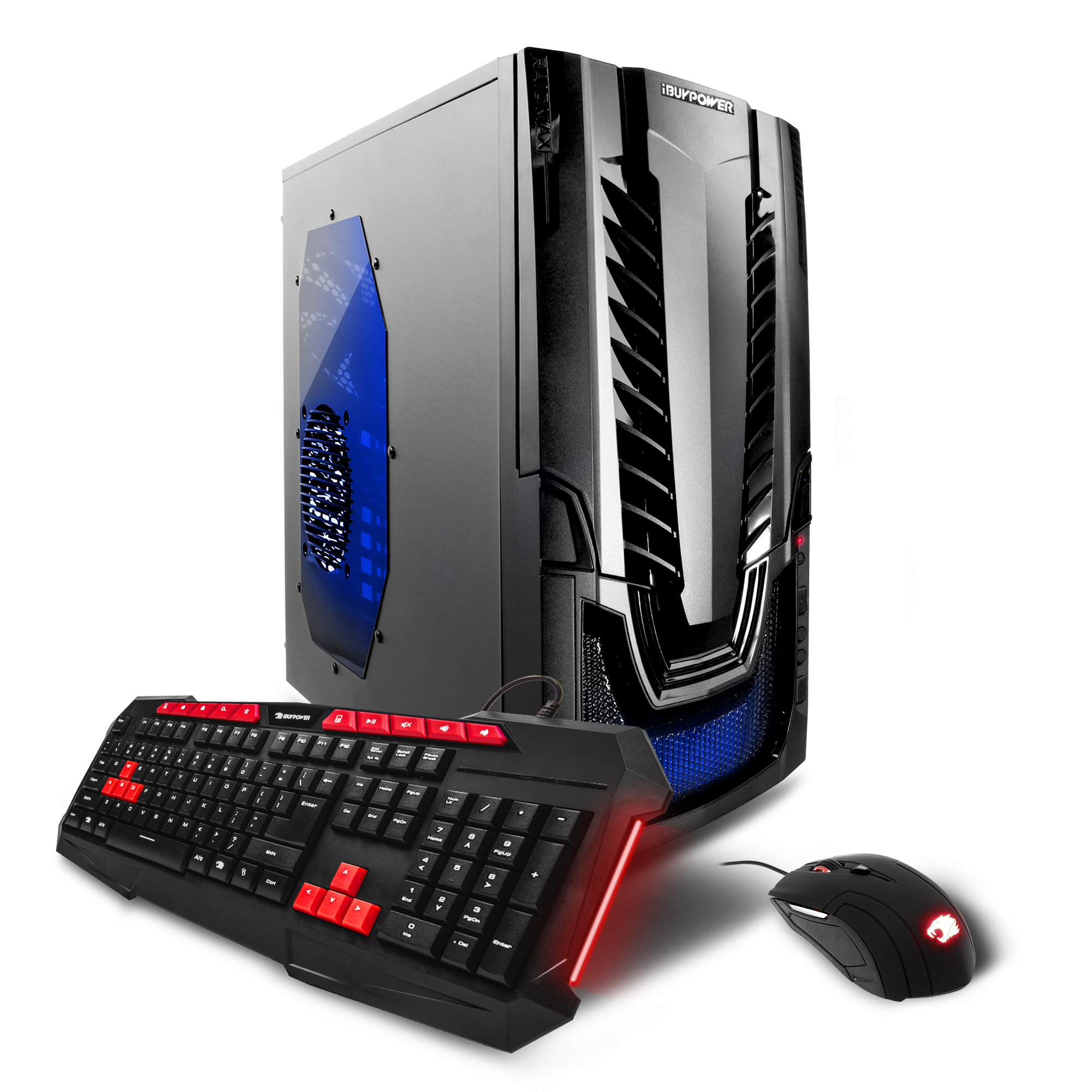 iBUYPOWER WA801Va Gaming Desktop PC with Ryzen 5 1400, GTX 1050 Graphics, 1TB Hard Drive, 120GB SSD, 8GB Memory, and Windows 10 Home. (Monitor Not Included)