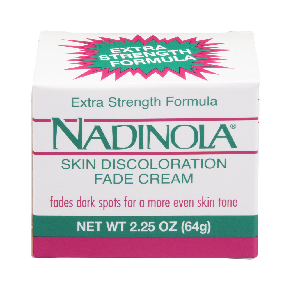 Nadinola Skin Discoloration Fade Cream Extra Strength, 2.25 OZ