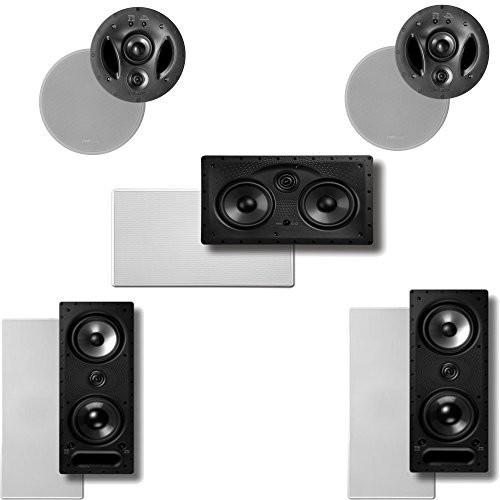 Polk Audio Vanishing LS Series 5.0 In-Wall   In-Ceiling Home Theater Speaker System (2-265LS, 2-700LS & 1-255CLS) by Polk Audio