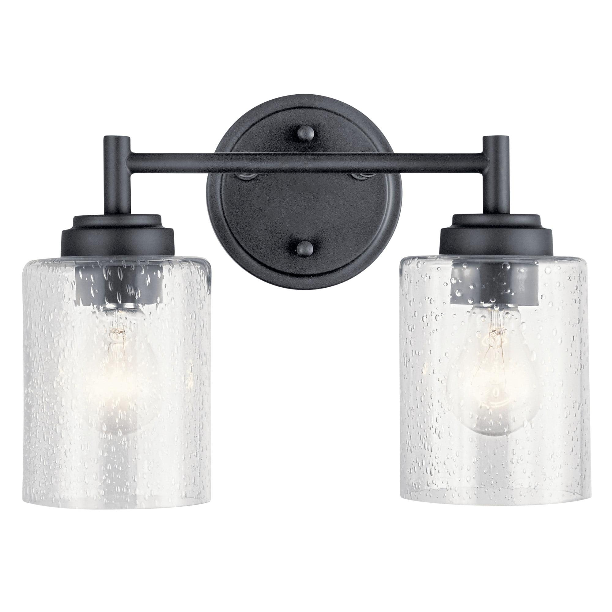 Kichler 45885 Winslow 2 Light 13 Wide Bathroom Vanity Light Walmart Com Walmart Com