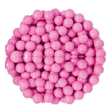 Sixlets Light Pink Chocolate Candy, 12 Pounds - Pink Sixlets