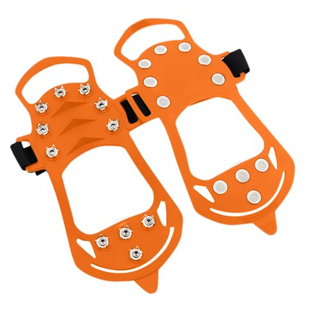 Non-slip Snow Cleats Shoes Boots Cover Step Ice Spikes Grips Crampons For