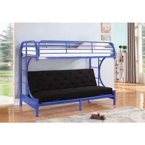 Leonel Nathaniel Twin Over Futon Metal Bunkbed Multiple Product Picture
