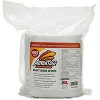 2XL, TXLL36, Advantage Sanitizing Wipes, 1 Roll, White