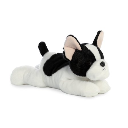 French Bulldog Pup Flopsie 12 Inch - Stuffed Animal by Aurora Plush (31574) ()