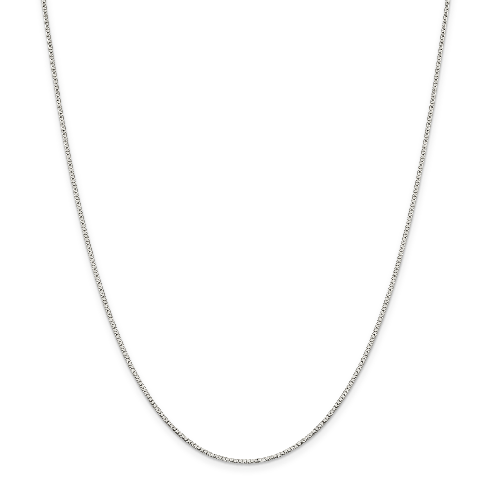 West Coast Jewelry Sterling Silver 1.10mm Box Chain