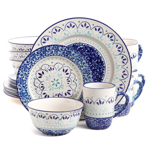 ABC Home Collection Gibson Elite 16 Piece Dinnerware Set by Supplier Generic