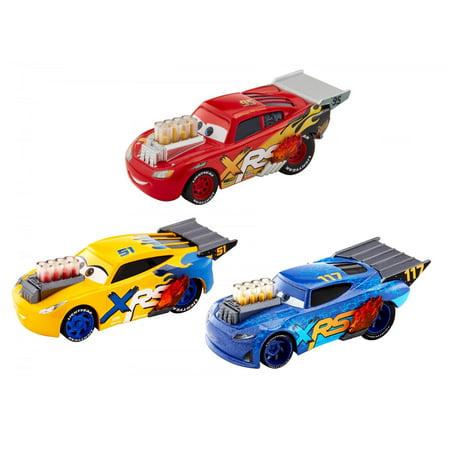 Disney/Pixar Cars XRS Drag Racing 3-Pack (Drag Racing Level 6 Best Car)