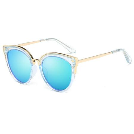 f11f077701 Cyxus Cat Eye Polarized Sunglasses for Womens Girls,Anti Glare 100 ...