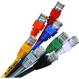 14FT CAT5E ORANGE MOLDED BOOT PATCH CABLE 350MHZ