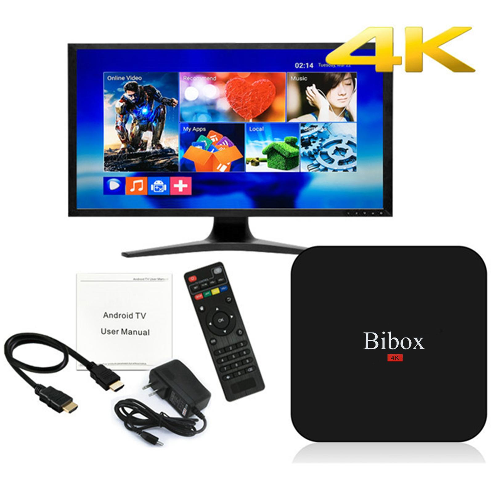 Bibox S905 Pro Quad Core 2 0GHz Android 5 1 4K 1080P Smart Media Player TV  Box