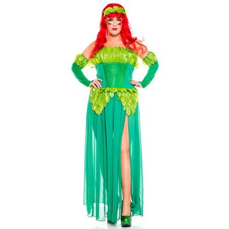 Plus Size Poisonous Villain Costume, Sexy Plus Size Poisonous Villain Costume - Plus Size Villain Costumes