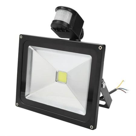 Mgaxyff 30W Outdoor Garden Light Motion Sensor Lawn Lamp for Home Garden Courtyard Lighting, Sensor Garden Light, Outdoor Lawn Lamp