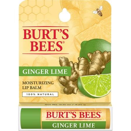 Burt's Bees Lip Balm Ginger Lime - .15oz