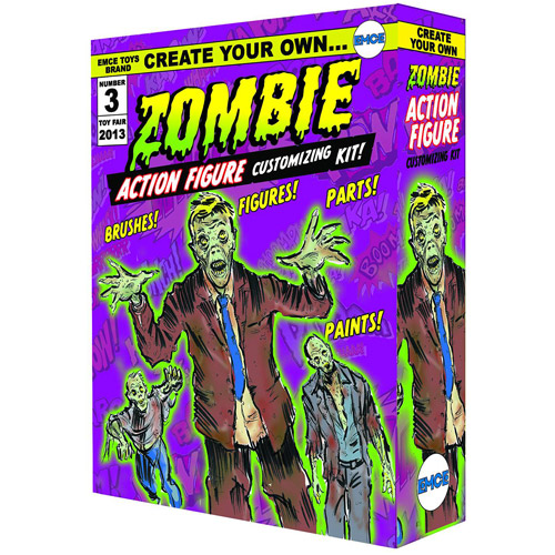 Spherewerx Create Your Own Zombie Action Figure Kit OCT131942