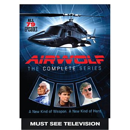Balboa 15 Series - Airwolf: The Complete Series (DVD)