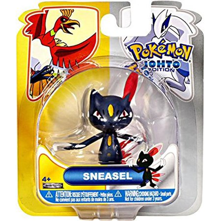 Pokemon Basic Figure HeartGold SoulSilver - Johto Series 16 - SNEASEL - image 1 of 1
