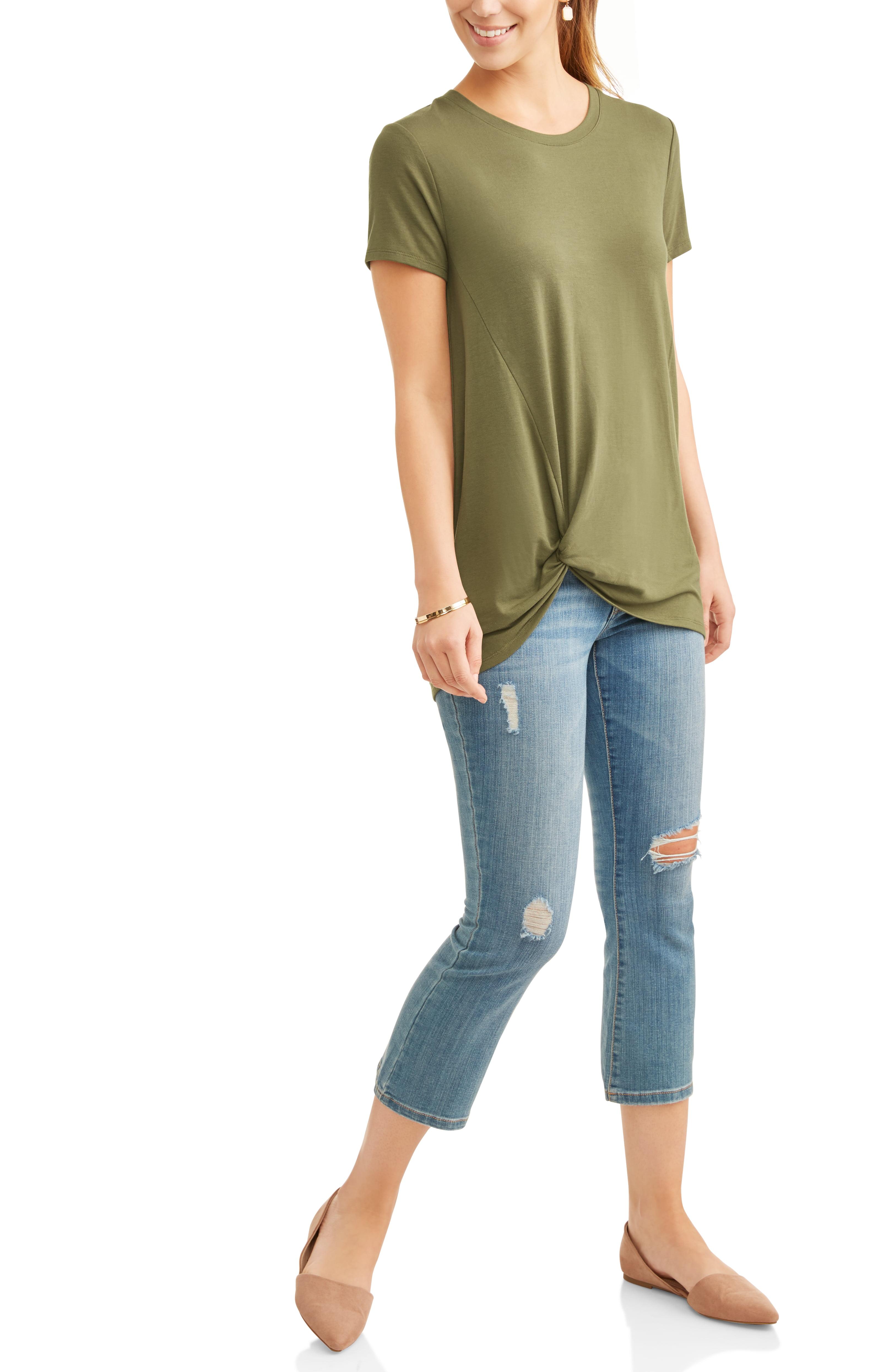 Women's Twist Knot T-Shirt