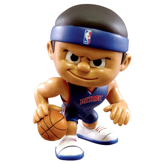 "DETROIT PISTONS ""LIL TEAMMATE"" COLLECTIBLE TOY FIGURE"