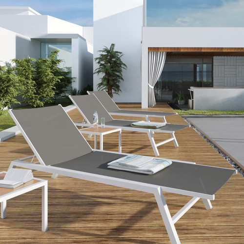 UrbanMod Outdoor Chaise Lounge by Modani