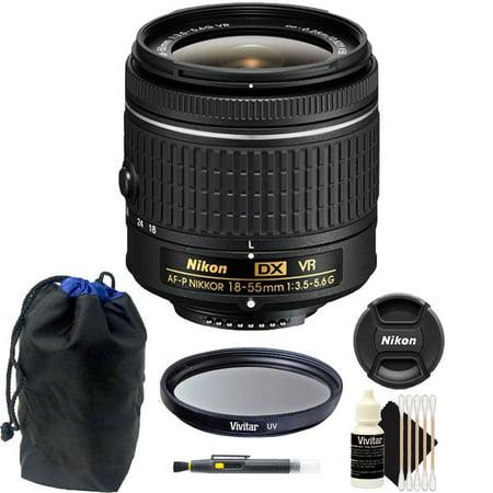 Nikon 18-55mm f/3.5 - 5.6G VR AF-P DX Nikkor Lens for Nikon D5300 DSLR