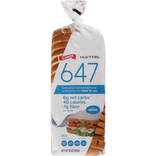 Schmidt Old Tyme 647 White Bread, 18 oz