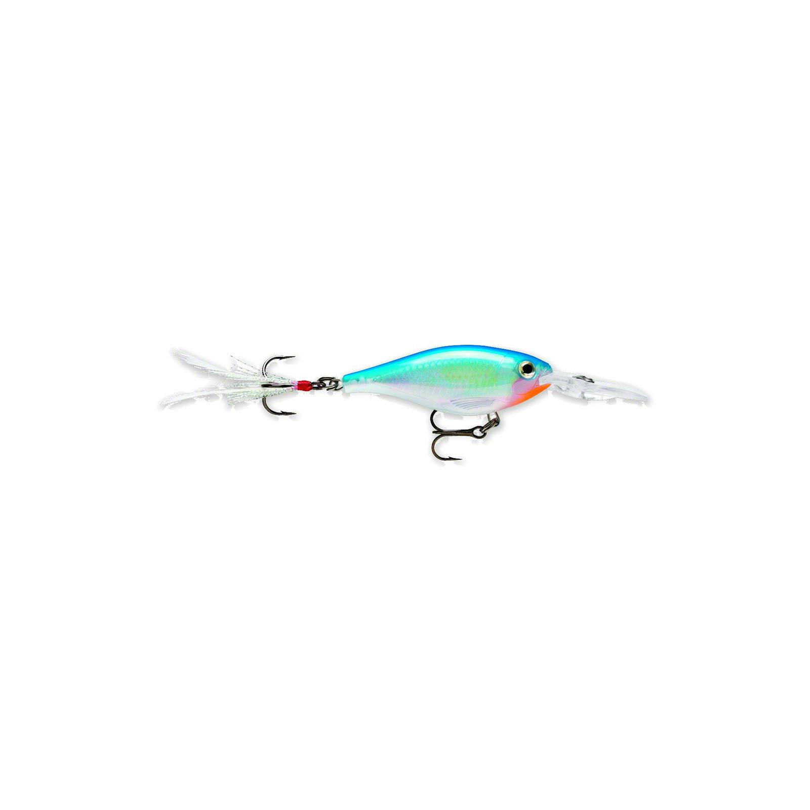 Rapala X-Rap Subwalk 09 Fishing lure (Silver, Size- 3.5) Multi-Colored by Rapala