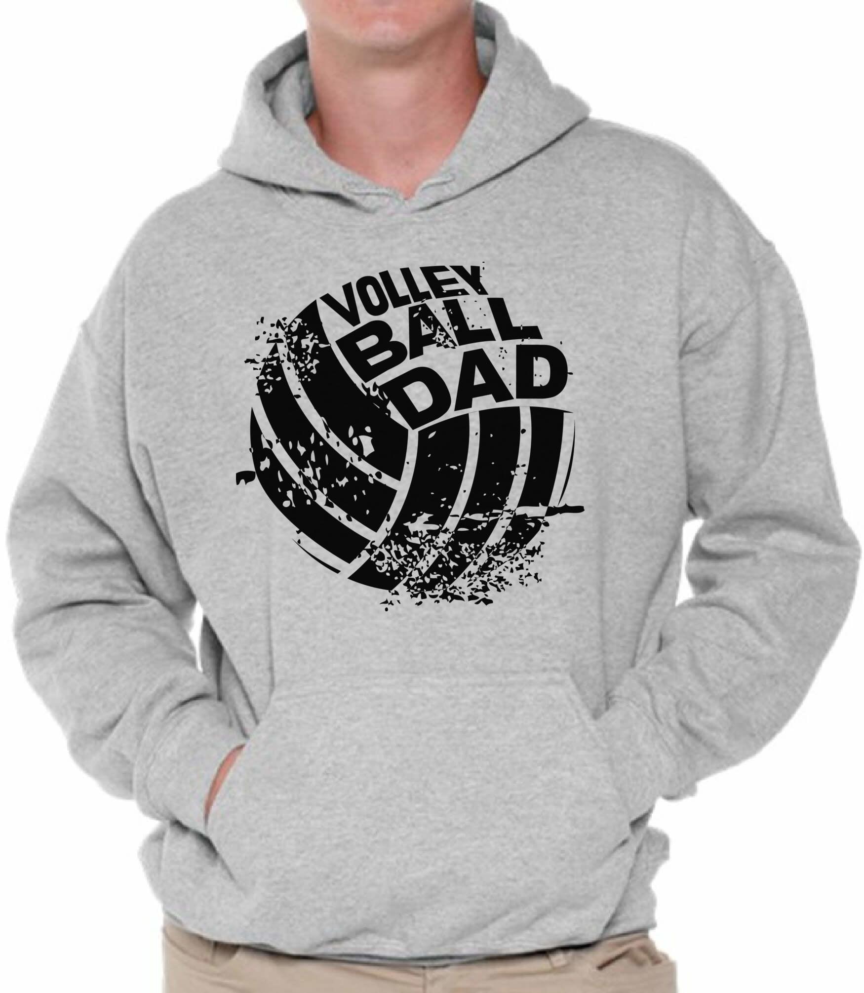 Zip Up Hoodie Softball Dad Fan Father Hooded Sweatshirt for Men