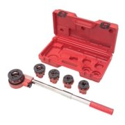TEKTON 7574 Ratchet Pipe Threader Kit, 9-Piece Multi-Colored