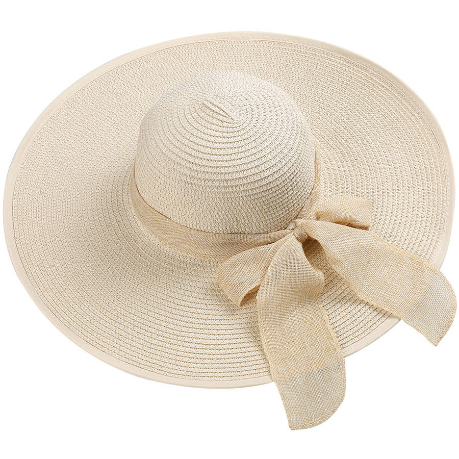 AERUSI Women's Hamptons Floppy Straw Hat